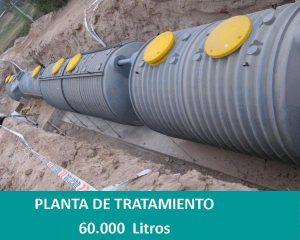 planta de aguas servidas