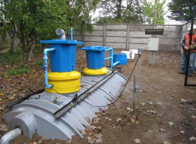 Plantas de tratamiento de aguas residuales estanques for Estanques para almacenar agua potable