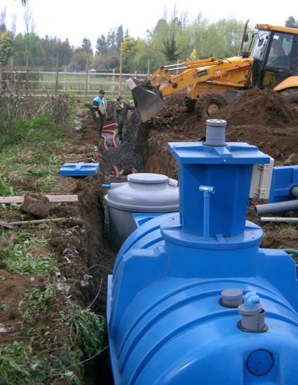 Estanques plantas de tratamiento de aguas residuales for Estanques para agua potable